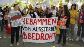 Streik der Hebammen