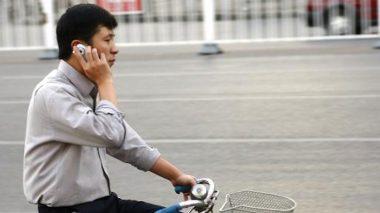 Telefonieren auf dem Fahrrad?