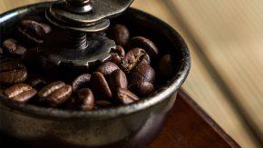 Fair gehandelte Kaffeebohnen