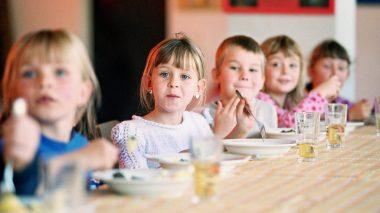 Mittagessen in einer Ganztagsschule