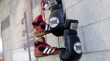 Boxerutensilien