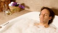 Ein Wohlfuehl-Bad mit ätherischen Oelen