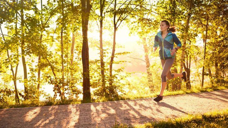 Laufen tut der Seele gut
