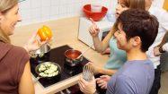 Gemeinsam kochen und sich kennenlernen