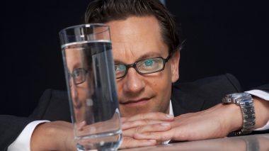 Wasser-Sommelier Jerk Martin Riese