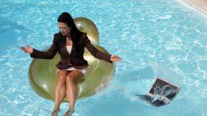 Im Urlaub lieber abschalten