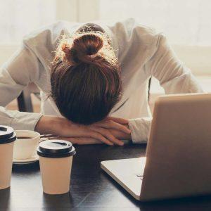 Stress auf der Arbeit