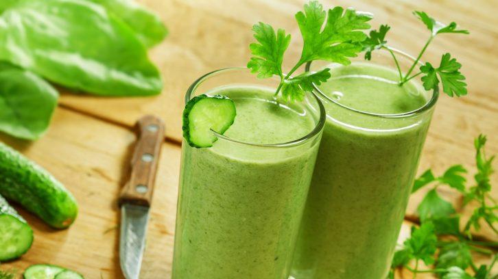 Grüne Smoothies für die Gesundheit