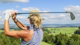 Golf ist ein Sport