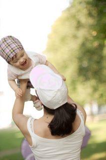Glück für Mama und Kind