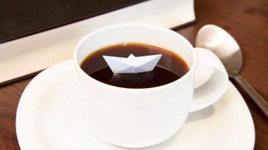 So viel Kaffee muss sein