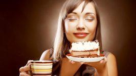 Kontrolle aufgeben und sich etwas gönnen - wie Schokoladenkuchen