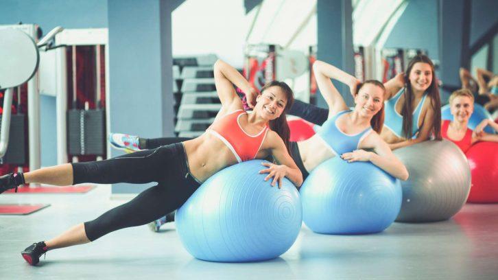 Pilates ist gut für den Rücken