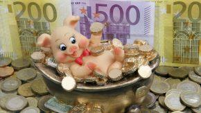 So zufrieden wie dieses Glücksschwein sein?