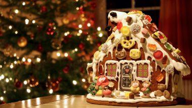 Harmonische Weihnachten mit Knusperhäuschen