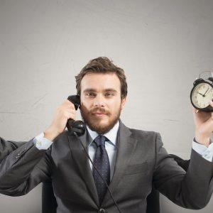 Stressmanagement: Mann muss vieles gleichzeitig bearbeiten