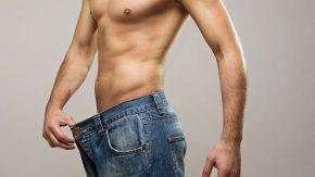Schlanker Mann hat abgenommen und Übergewicht verloren Erfahrungsbericht