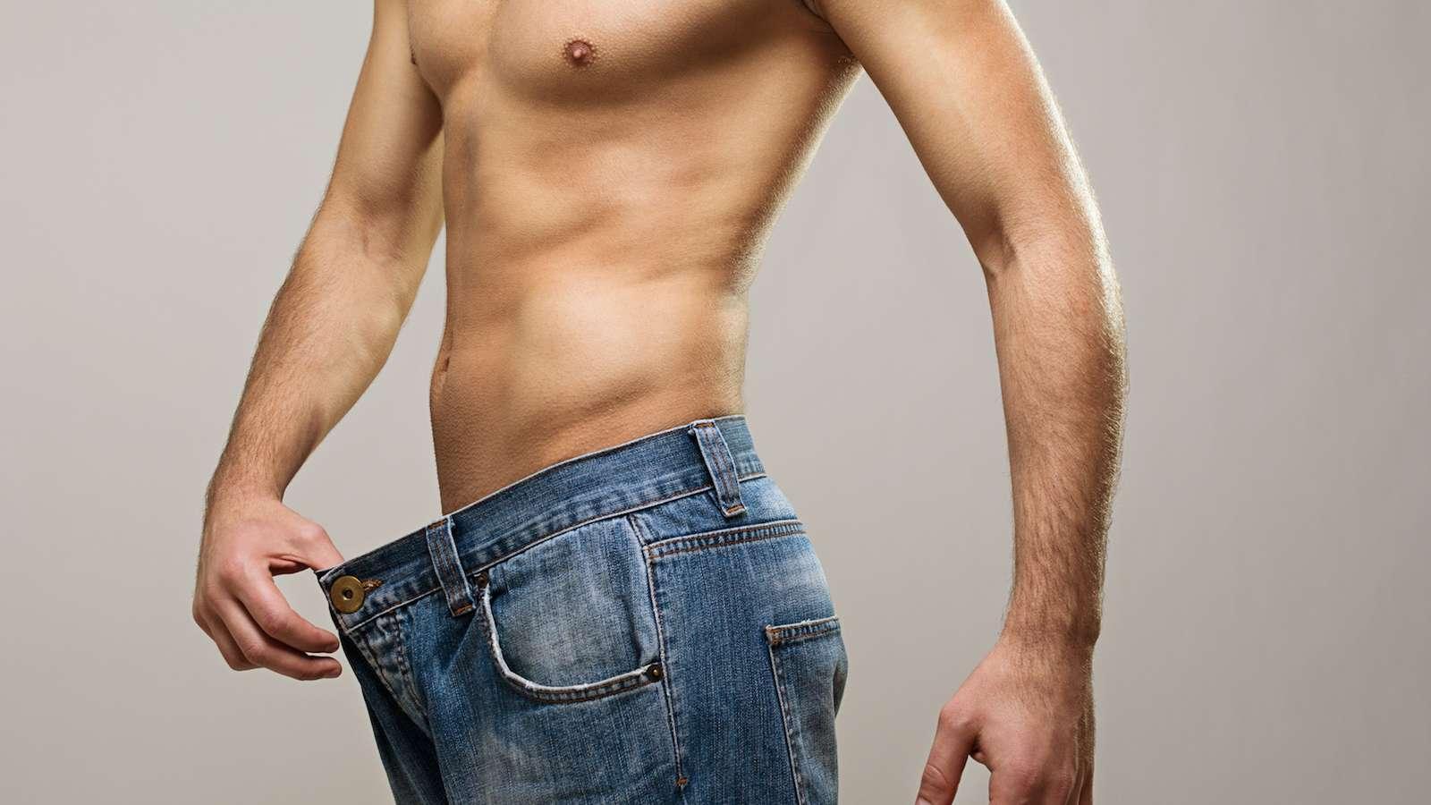 Wie man Gewicht im Brustbereich verliert