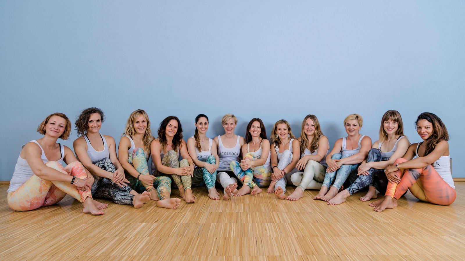 Yes Yoga Lehrerinnen