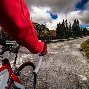 Im Alter Rad fahren