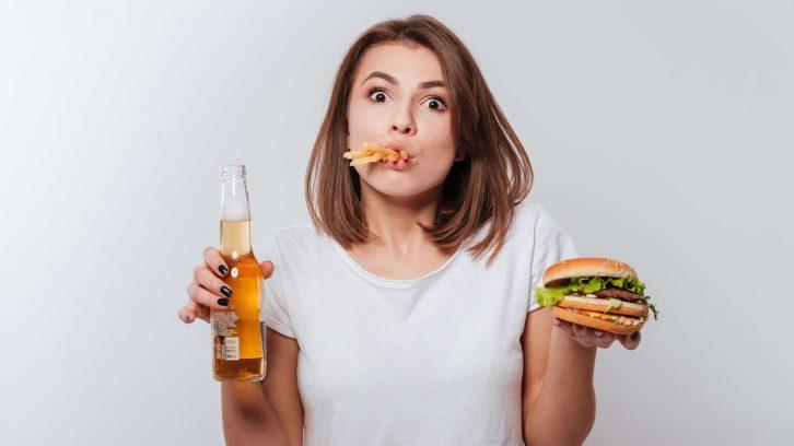 Fastfood macht dick