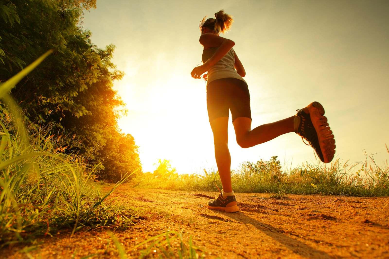 Laufen hält fit