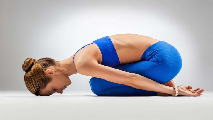 Yin Yoga ist passiv