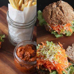 Rezept Vegane Burger