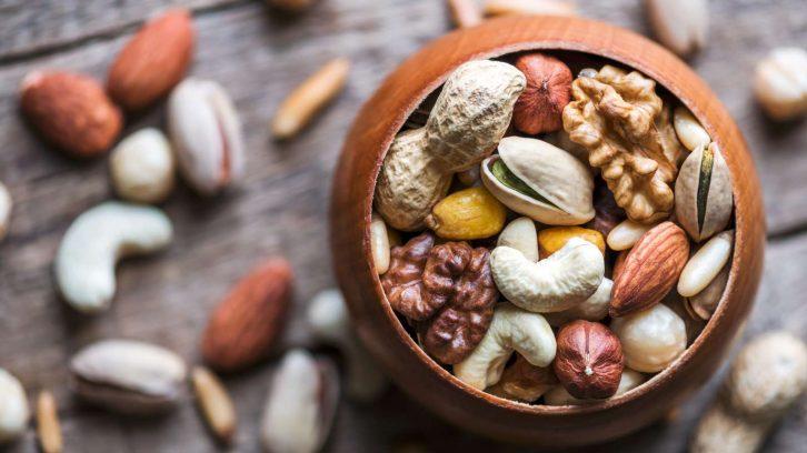 Durch Nüsse älter werden