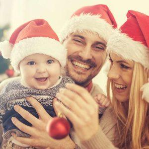 Weihnachten in Einklang mit sich selbst