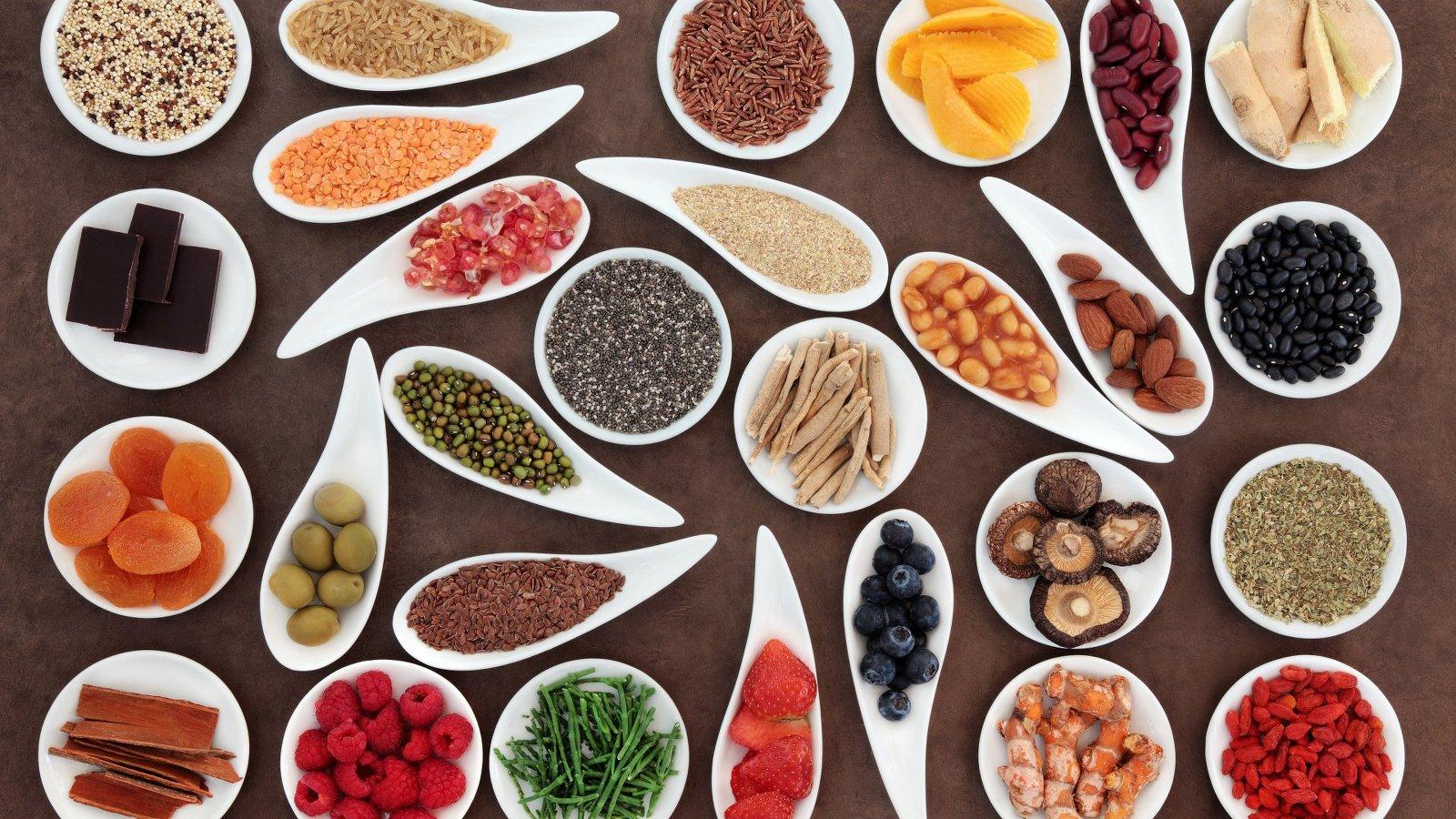Gerichte mit Superfoods