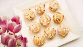 Rhabarber Muffins und andere Desserts