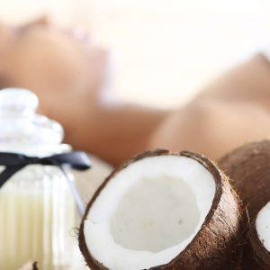 Kokosnuss für die Schönheitspflege