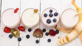 Rezepte für weiße Smoothies
