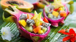 Exotische Früchte mit Rezepten