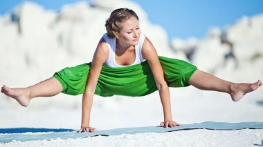 Innere Staerke durch Yoga