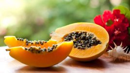 Papaya Rezept für den Grill
