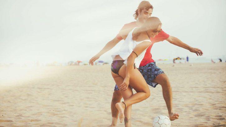 So funktioniert Beach Soccer