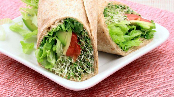 Buchweizen Wraps (glutenfrei)