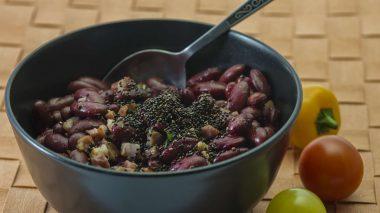 Kidneybohnensalat mit Chia