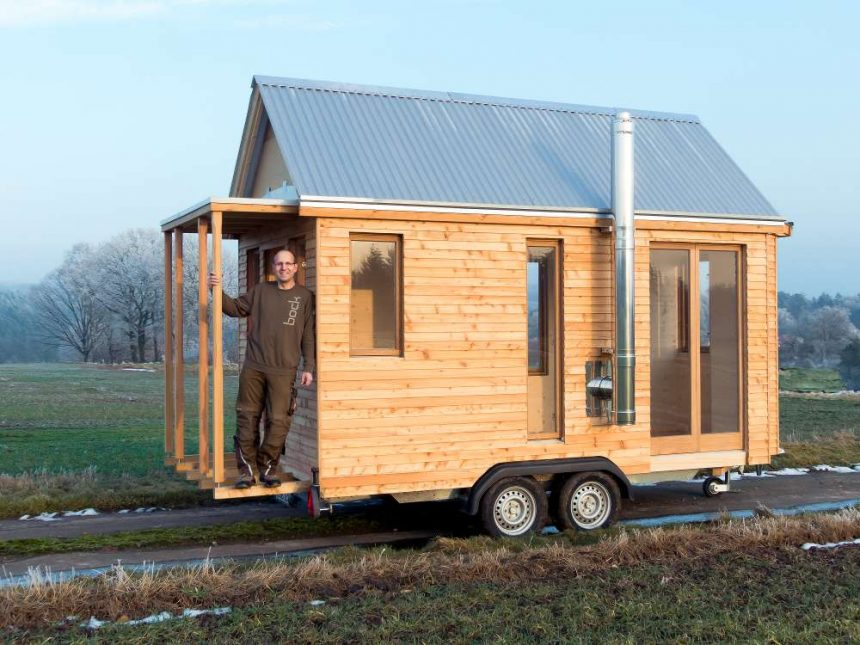 Tiny houses in deutschland evidero for Transportables haus holz