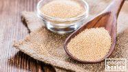 Glutenfreies Amaranth für Müsli