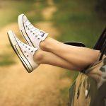 Entspanntes Beinehochlegen für mehr Gelassenheit