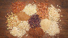 Glutenfreie Getreide und Samen