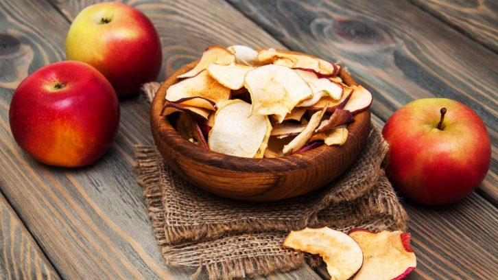 Apfel Chips selber machen