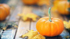 Gesunder Kürbis im Herbst