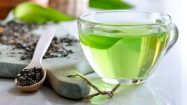 Gesunder Grüner Tee