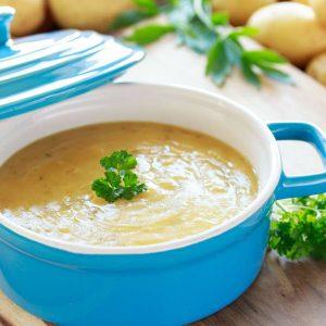 Kartoffel Suppe für Karneval