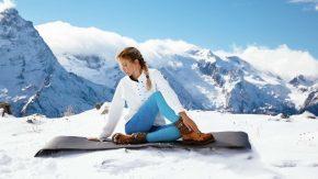 Yoga im Winter ist gesund