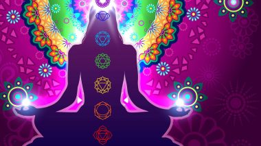 Chakras sind Energiezentren